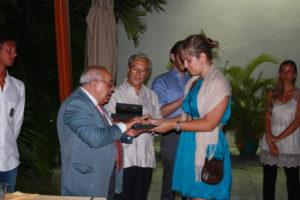 Premiazione in ambasciata a Cuba 3