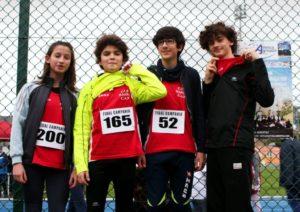 Atletica Leggera - Meeting del Sud - Andr&Claudia&Giovanni&Piero#01_CUS_Agropoli_Feb17