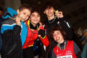 Atletica Leggera - Meeting del Sud - Andr&Francesco&Piero&Andrea#01_CUS_Agropoli_Feb17