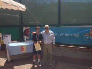Giancarlo Maione - 2° classificato - U12/m