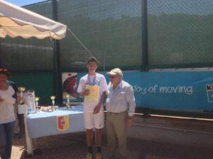 Mariano Tammaro - 2° classificato - U14/M