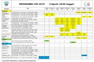 PROGRAMMA CNU 2019