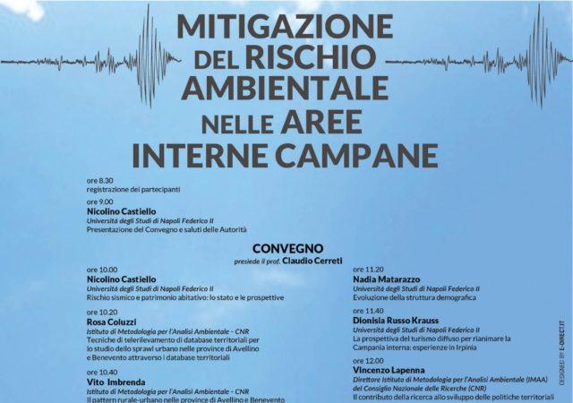 Convegno: Mitigazione del rischio ambientale nelle aree interne campane