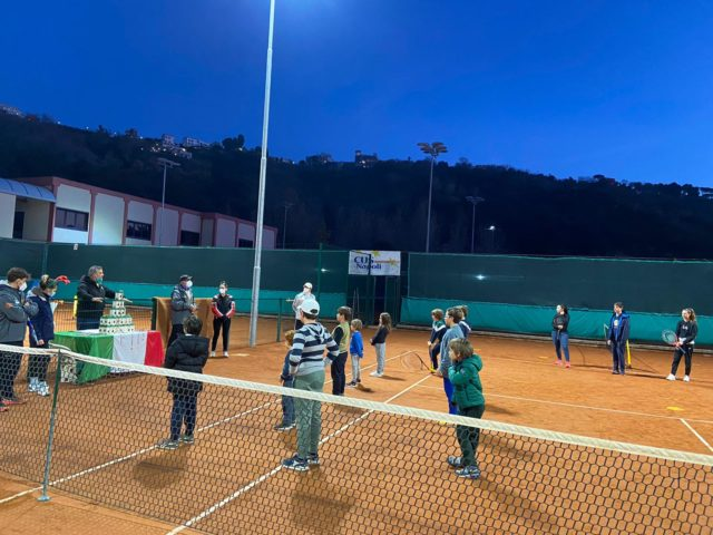Tennis: Grazie splendidi ragazzi!!