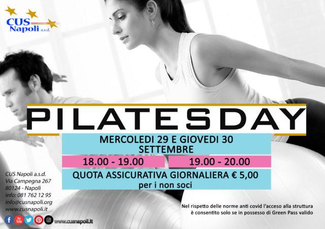 Pilatesday: partecipa anche tu