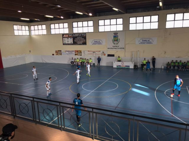 Calcio a 5 – Serie C1: Futsal Guadagno Pack – CUS Napoli 4-3