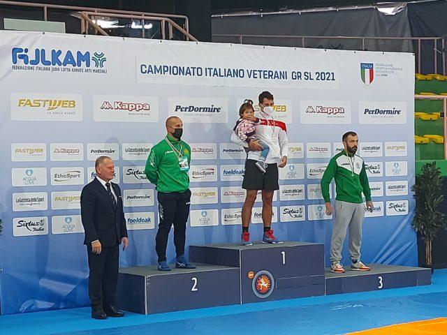Lotta: Pallavicino conquista il titolo di Campione Italiano ai Master A